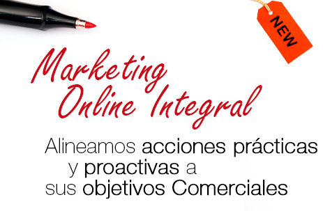 SERVICIO Marketing on-line Integral