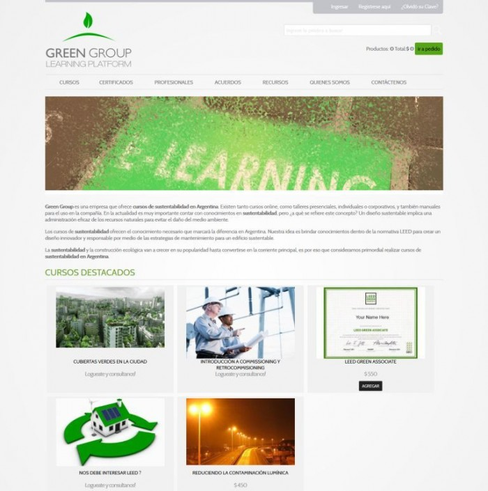 Cursos Leed - Green Group