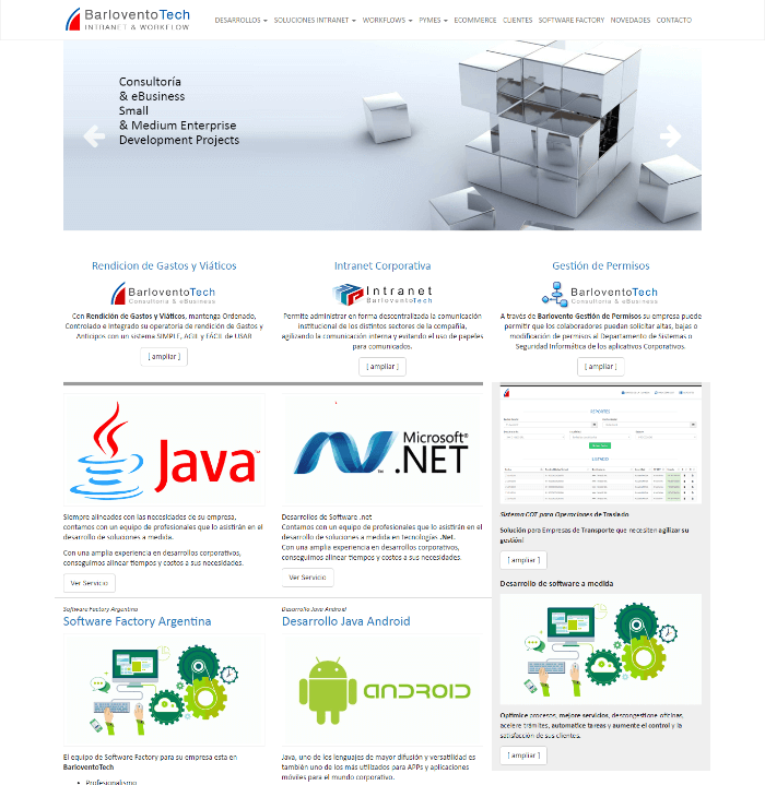 BarloventoTech - INTRANET & WORKFLOW